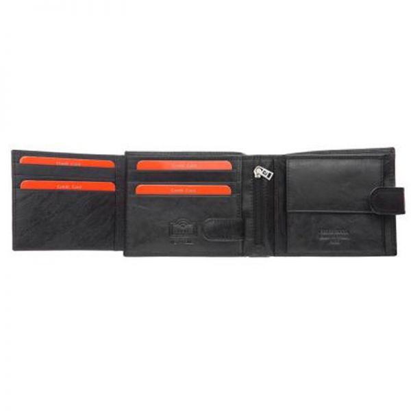 Мъжки портфейл Pierre Cardin, черен