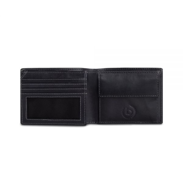 Кожен портфейл Bugatti Romano, RFID 4CC, естествена кожа, кафяв
