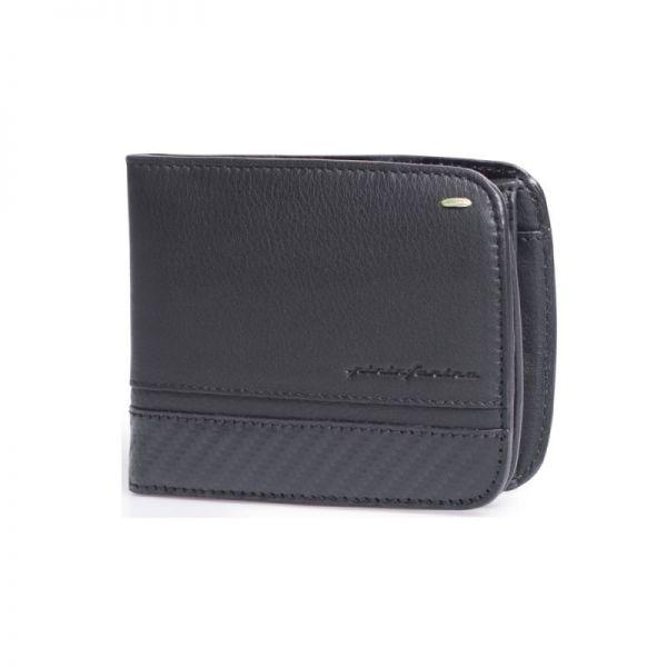 Мъжки портфейл Pininfarina, Folio Carbon с монетник