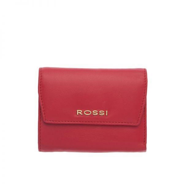 Дамски портфейл в черно ROSSI