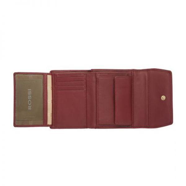 Дамски портфейл в светло розово ROSSI