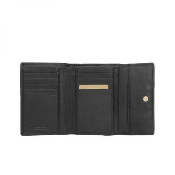 Черно дамско портмоне ROSSI