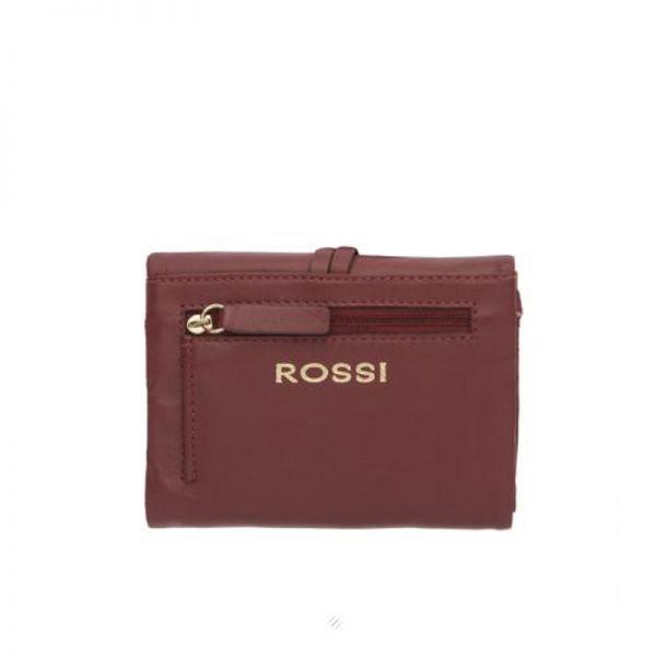 Палко дамско портмоне ROSSI, в лилаво