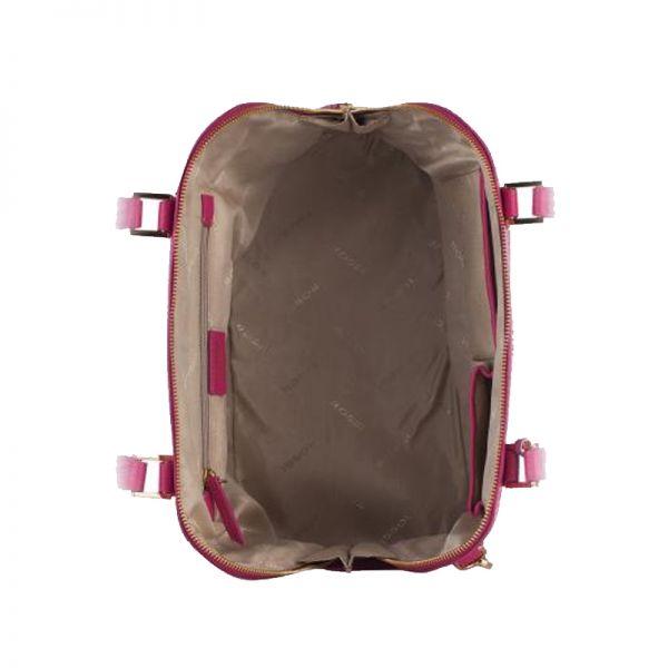 Елегантна дамска чанта ROSSI, червена