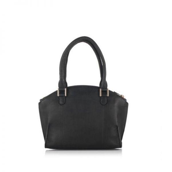 Дамска чанта с ципове ROSSI, малина