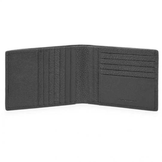 Мъжки портфейл от естествена кожа с отделения за карти Piquadro