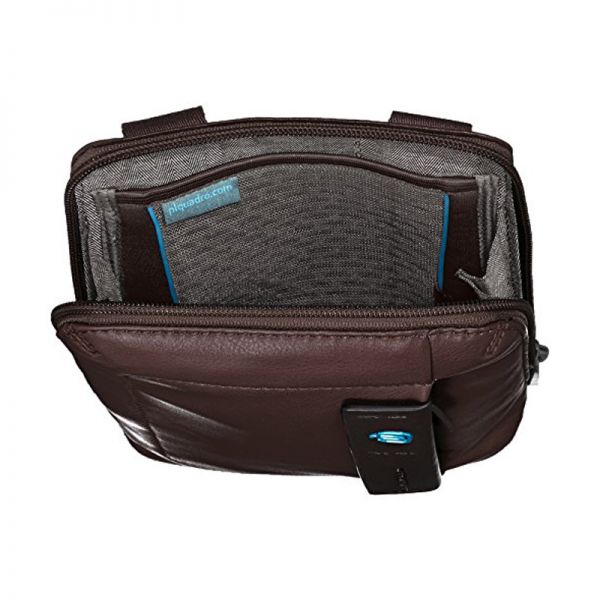 Вертикална чантичка Piquadro с отделениез за iPad mini/iPad mini3