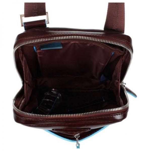 Вертикална чанта за рамо Piquadro с отделение за iPad mini/iPad mini3