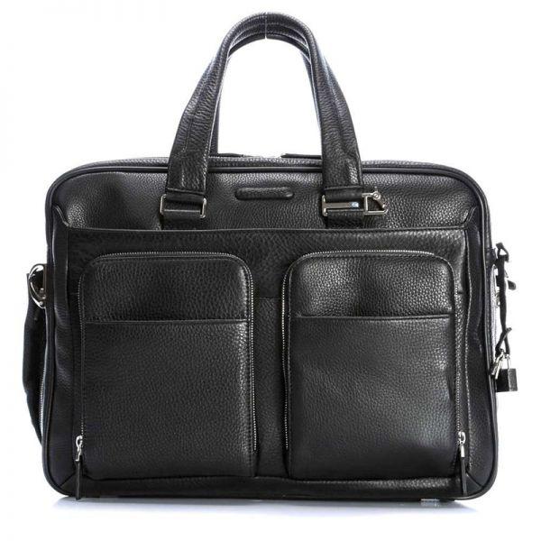"""Голяма бизнес чанта Piquadro с отделение за 15,6"""" лаптоп и iPad®Air/Pro 9,7"""
