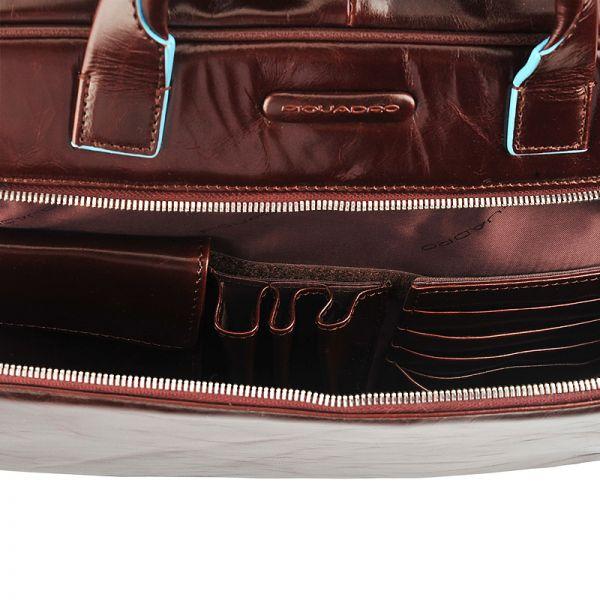 Бизнес чанта Piquadro с две отделения и разширение