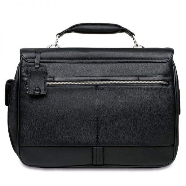 Хоризонтална бизнес чанта за лаптоп Piquadro с две отделениe