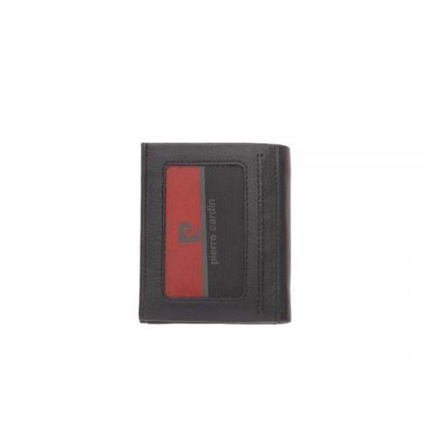 Вертикален мъжки портфейл Pierre Cardin, гладка кожа