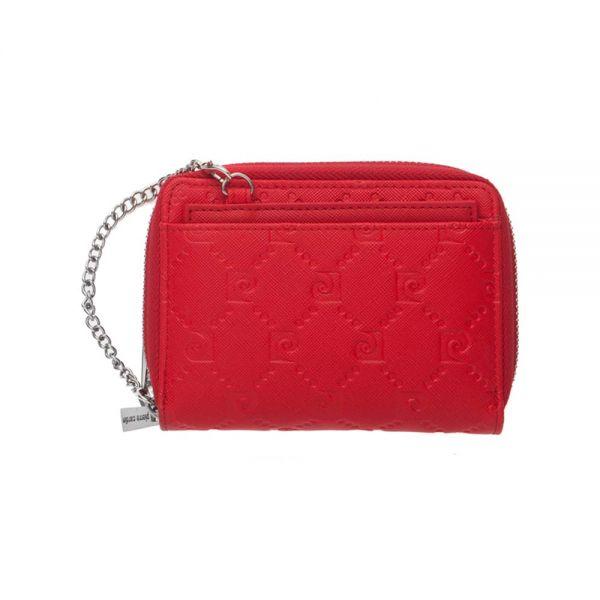 Дамско портмоне Pierre Cardin, златна щампа с верижка