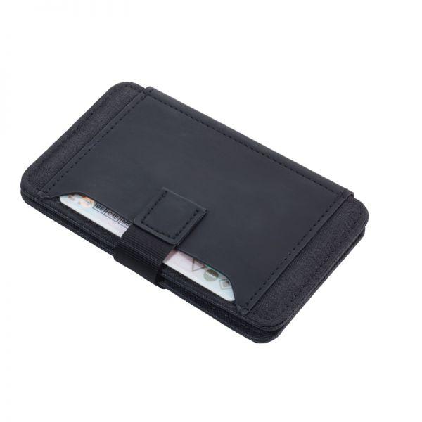 Кожен калъф за кредитни карти TROIKA - MIDNIGHT