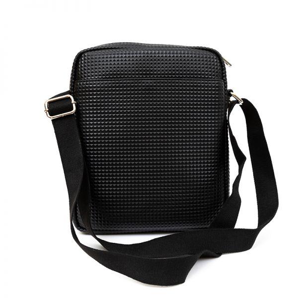Мъжка чанта за рамоPolice Pyramid, черна