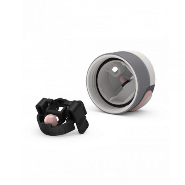 Термочаша от неръждаема стомана Kambukka Etna с термокапак 3 в 1 Snapclean®, 500 мл, нежен цвят