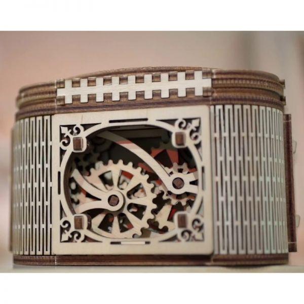 Механичен 3D пъзел - Кутия за бижута