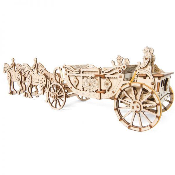 Механичен 3D пъзел - Кралска карета