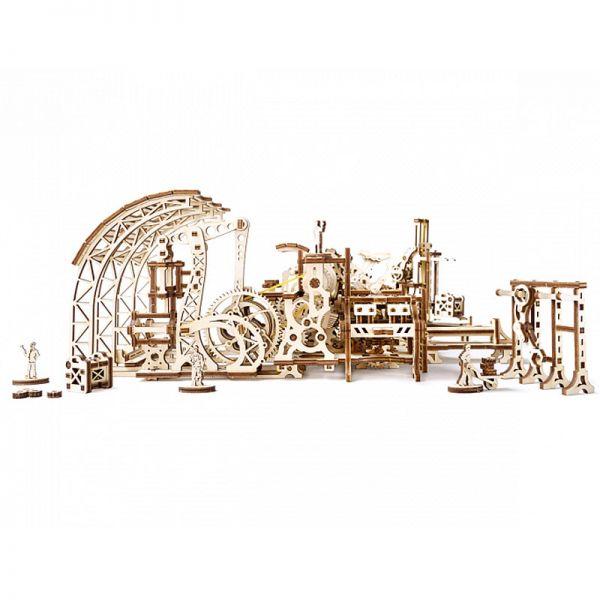 Механичен 3D пъзел - Фабрика за роботи