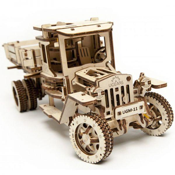 Механичен 3D пъзел - Камион UGM 11