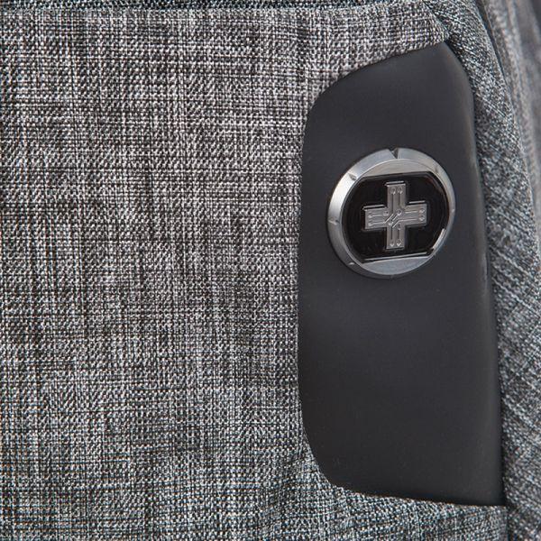 Раница Swissdigital, сива