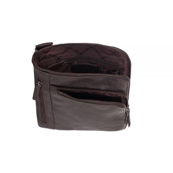 Мъжка чанта Silver Flame Cairo, кафява