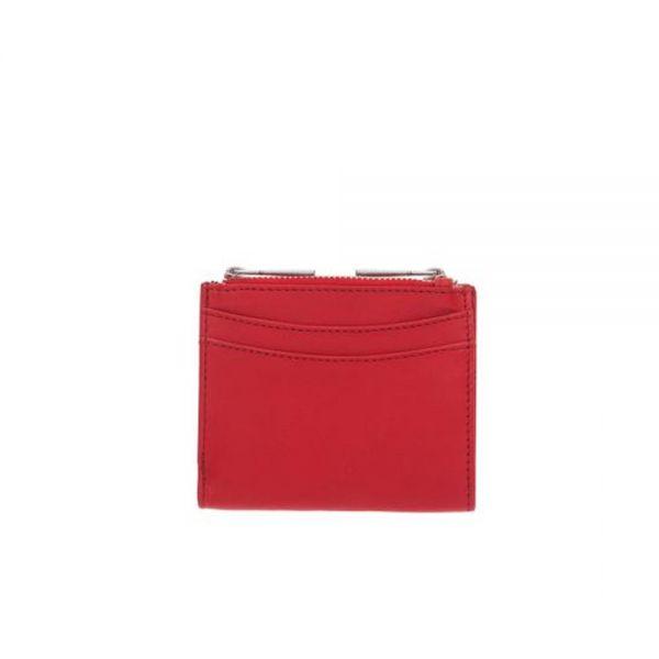 Дамско портмоне ROSSI, винено червено