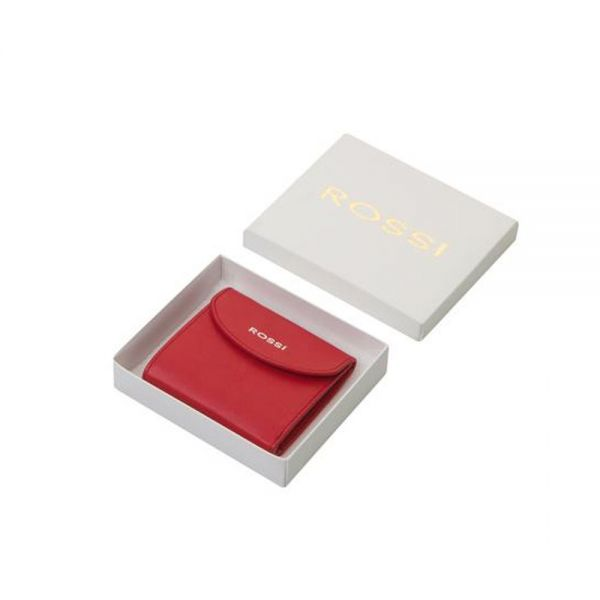 Дамско портмоне ROSSI, винено червен
