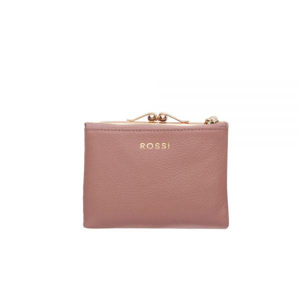 Червено дамско портмоне ROSSI