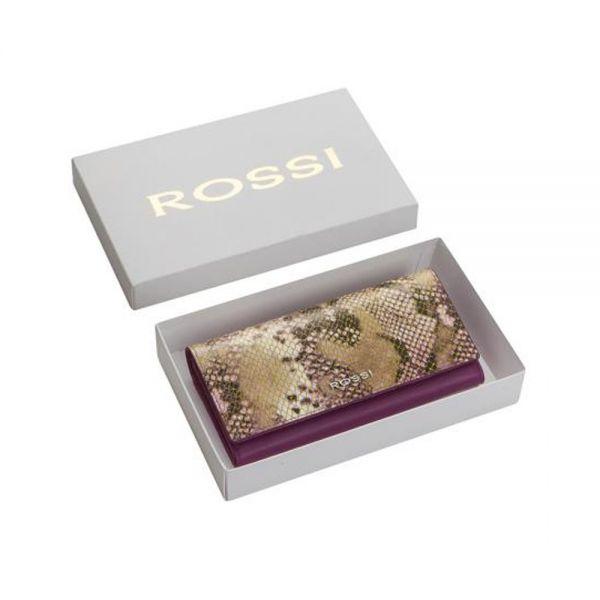 Дамско портмоне ROSSI, Grey Python