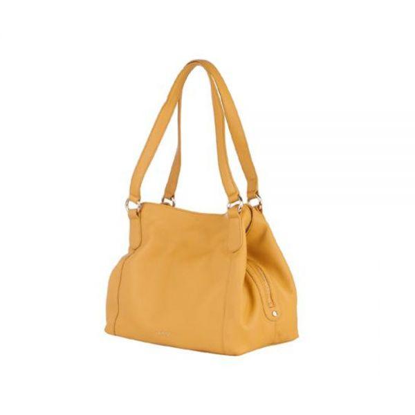 Бяла дамска чанта ROSSI