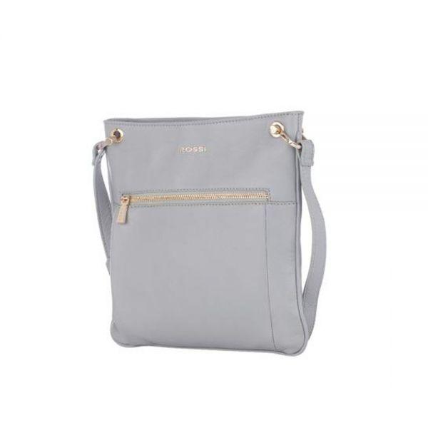 Жълта дамска чанта ROSSI