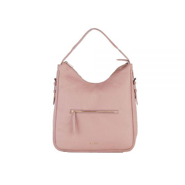 Винено червена дамска чанта ROSSI