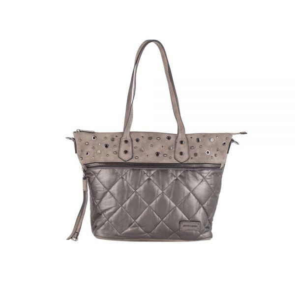 Черна дамска чанта Pierre Cardin