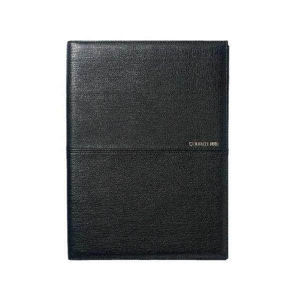 Комплект кожена папка A4 с химикалка и ключодържател Cerruti 1881 Holt