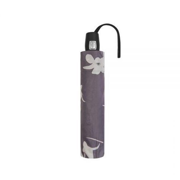 Бял дамски чадър Pierre Cardin, с орхидея
