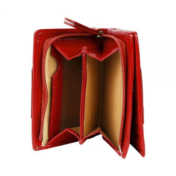 Дамски портфейл Cross Origami Small Flap, черен
