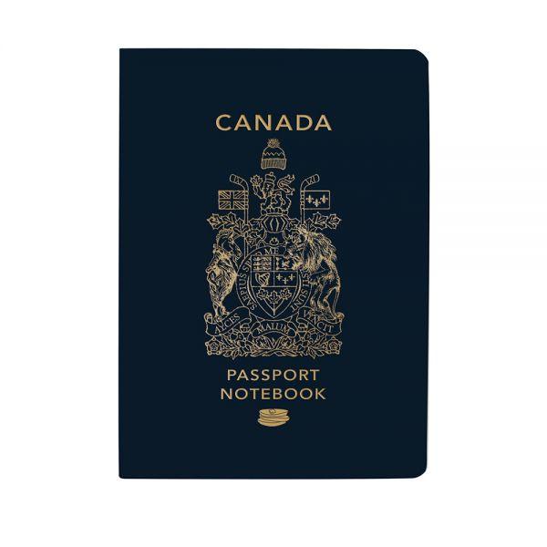 Тефтер The Unemployed Philosophers Guild - Канадски паспорт, джобен