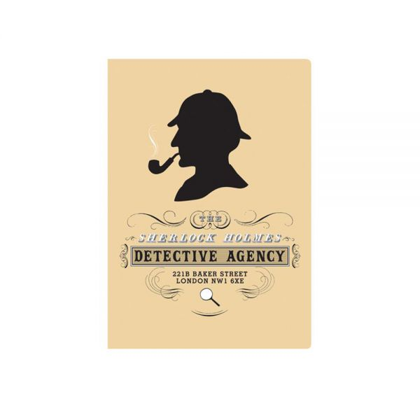 Тефтер The Unemployed Philosophers Guild - Шерлок Холмс, джобен