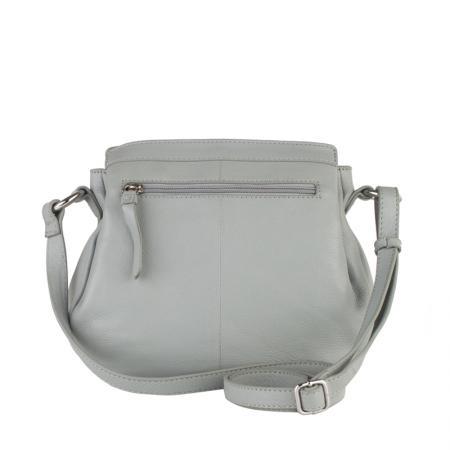 Дамска чанта Rossi - сива