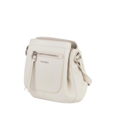 Дамска чанта Rossi - бяла