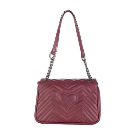 Дамска чанта Pierre Cardin - Sauvage, бордо