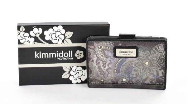 Дамско портмоне Kimmidoll - Mie, 14.3 см, графит