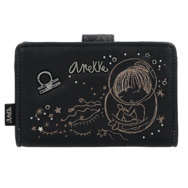 Дамско портмоне Anekke - Universe, черно