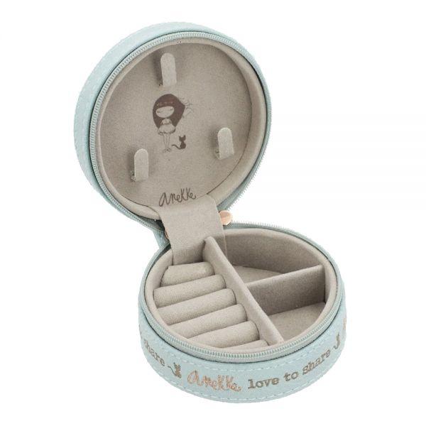 Кутия за бижута Anekke - светлосиня