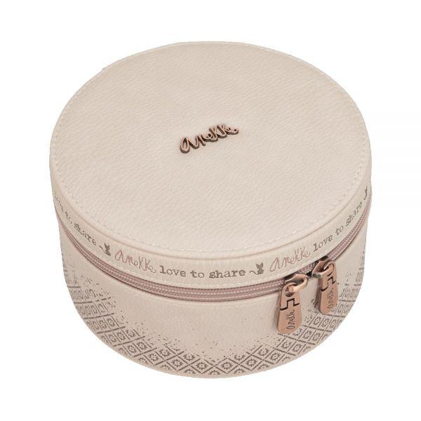 Кутия за бижута Anekke - голяма, светлорозова