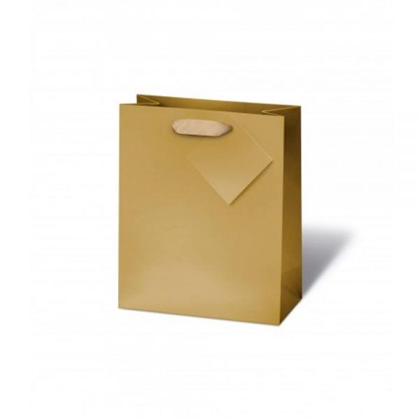 Подаръчен плик MATT GOLD 23 x 19 x 9 см