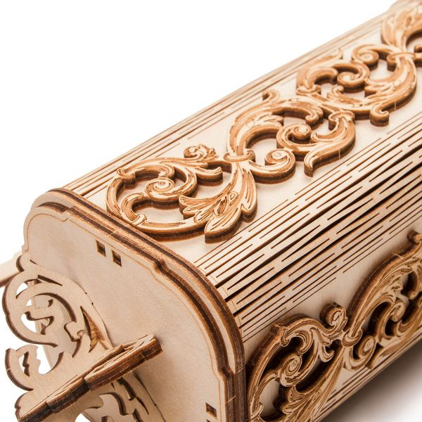 Механичен 3D пъзел Wood Trick - Часовник с махало, 251 части