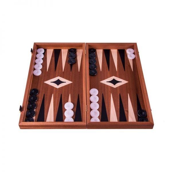 Табла за игра Manopoulos - Махагон, 38x20 см