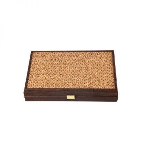 Дървена табла Manopoulos - Корк 30x20 см.